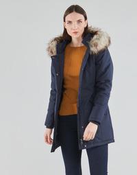 Textil Ženy Parky Only ONLKATY Tmavě modrá