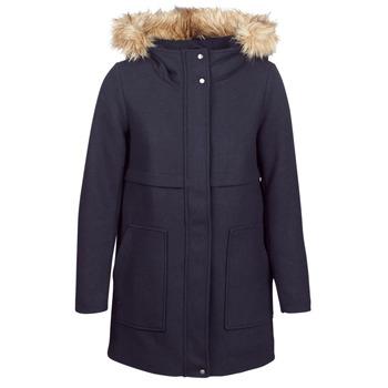 Textil Ženy Kabáty Only ONLNOAH Tmavě modrá