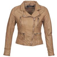 Textil Ženy Kožené bundy / imitace kůže Oakwood 60862 Zlatohnědá