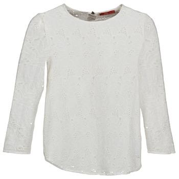 Textil Ženy Trička s dlouhými rukávy Esprit VASTAN Bílá