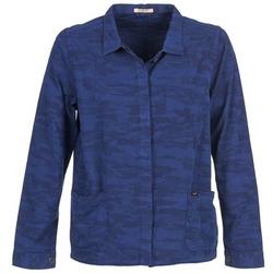Textil Ženy Saka / Blejzry Lee CAMO Modrá