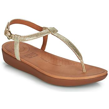 Boty Ženy Sandály FitFlop TIA Zlatá