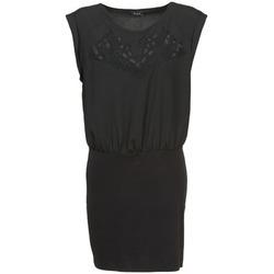 Textil Ženy Krátké šaty Vila VIHAMIN Černá