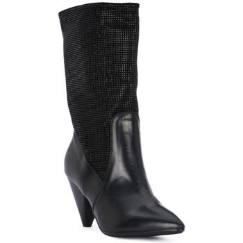 Boty Ženy Nízké kozačky Juice Shoes TEVERE NERO STRASS NERI Nero