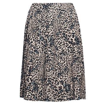 Textil Ženy Sukně Betty London J.WILD TIME Béžová / Černá