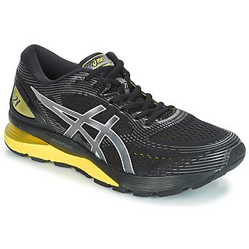 Boty Muži Běžecké / Krosové boty Asics GEL-NIMBUS 21 Černá / Žlutá