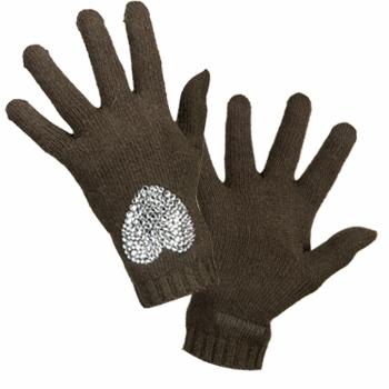 Textilní doplňky Ženy Rukavice Moschino 29849 Tmavězelená