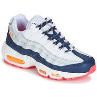 Boty Ženy Nízké tenisky Nike AIR MAX 95 W Bílá / Modrá / Oranžová