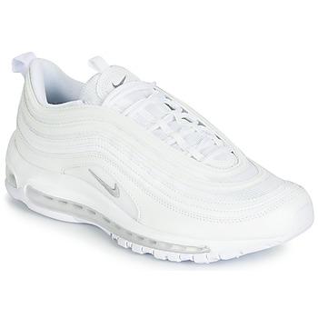 Boty Muži Nízké tenisky Nike AIR MAX 97 Bílá / Šedá