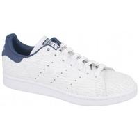 Boty Ženy Multifunkční sportovní obuv adidas Originals STAN SMITH FTWR   NOBLE INDIGO béžový