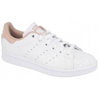 Boty Ženy Multifunkční sportovní obuv adidas Originals STAN SMITH FTWR   ASH PEARL béžový
